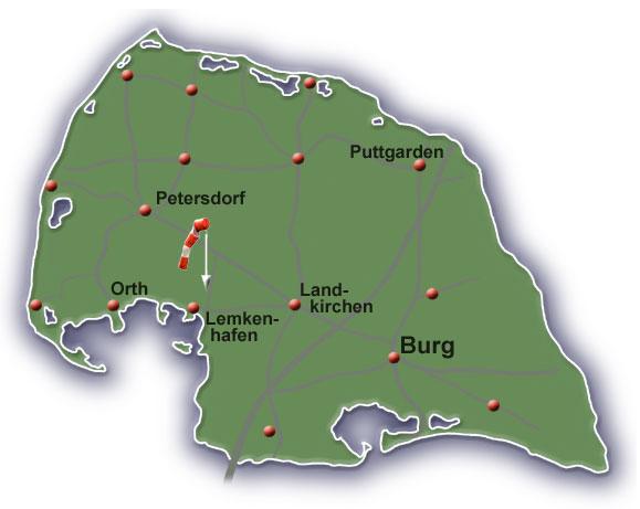 Fehmarn Air Fehmarn Karte